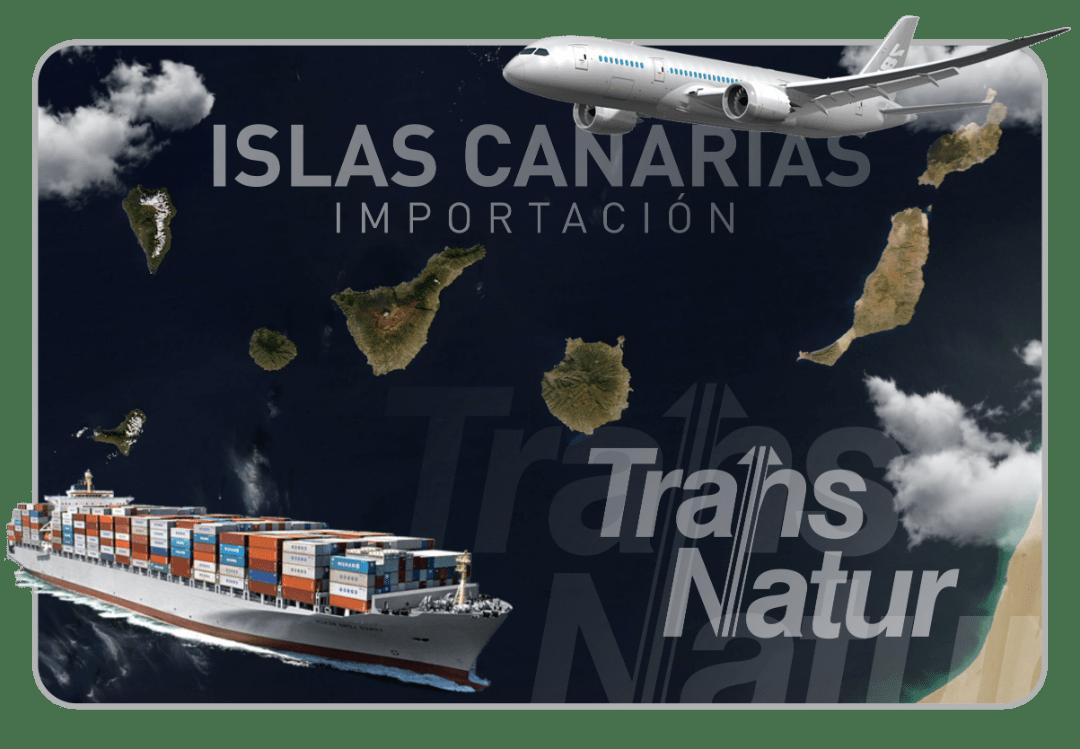 Servicio de transporte integral Canarias, gestionamos el transporte de todas tus cargas
