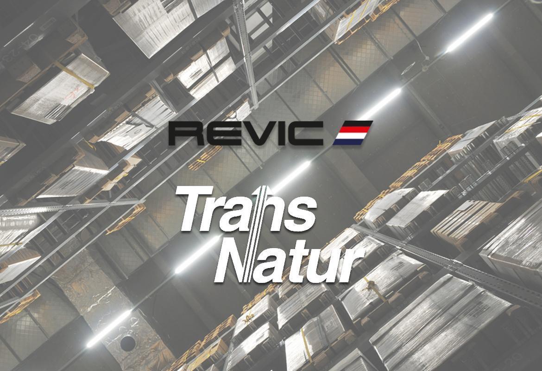 El GRUPO REVIC  elige a TransNatur como partner logístico